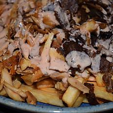 Fries Top Mixed Shawarma