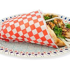 Chicken Breast Kebab Pita