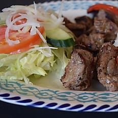 Lamb Shish Garden Salad