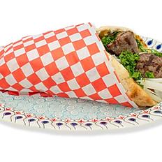 Lamb Shish Kebab Pita