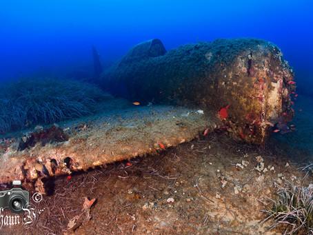 Corsica's Underwater Graveyard of Planes!