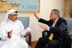 لقاء مع السيد عمرو موسى