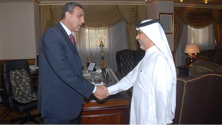 لقاء مع رئيس مجلس الرياضة المصري