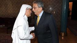 لقاء مع أمين عام الجامعة العربية