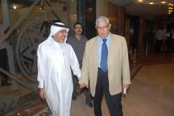 لقاء مع السيد مكرم محمد أحمد