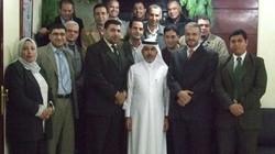 لقاء الزملاء في مكتب القاهرة