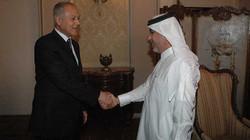 لقاء مع وزير الخارجية المصري
