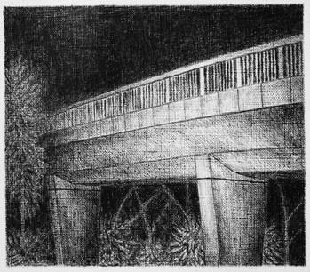 les images grisées - 24, crayon sur papier toile, 13 x 15 cm, 2016