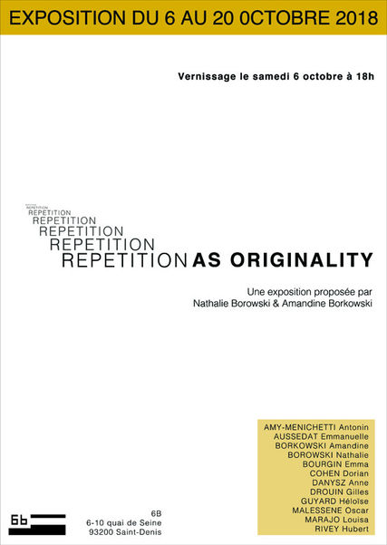 Affiche Repetition as originality.jpg