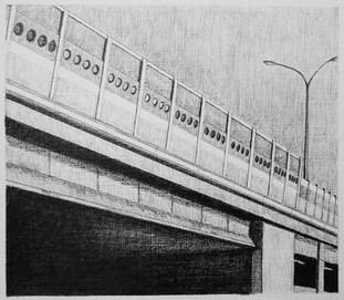 les images grisées - 12, crayon sur papier toile, 13 x 15 cm, 2015