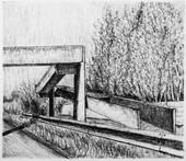 les images grisées - 02, crayon sur papier toile, 13 x 15 cm, 2015