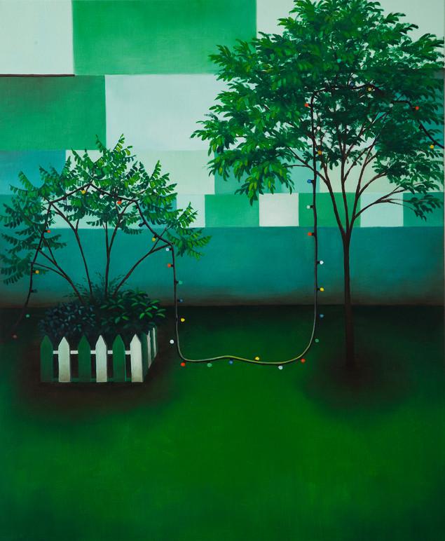 urbanités 31, huile sur toile, 60 x 73 cm, 2020