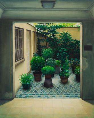 urbanités 33, huile sur toile, 65 x 81 cm, 2020