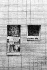 21 x 29,7 cm, crayon sur papier toile, 2017. Collection particulière.