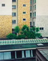 urbanités 30, huile sur toile, 130 x 162 cm, 2020