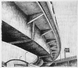 les images grisées - 04, crayon sur papier toile, 13 x 15 cm, 2015