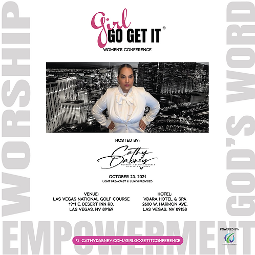 Girl Go Get It Conference Ticket - In Person