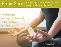 Brain Spa Poster Jan - Mar 2020 - Yoga f