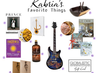 KABRIA'S 25 FAVORITE THINGS