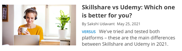 Skillshare vs Udemy: Which one is better for you?