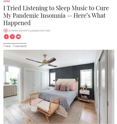 I Tried Listening to Sleep Music to Cure My Pandemic Insomnia — Here's What Happened