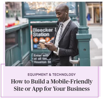 How to Build a Mobile-Friendly Site or App for Your Business
