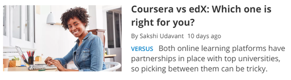 Coursera vs edX: Which one is right for you?