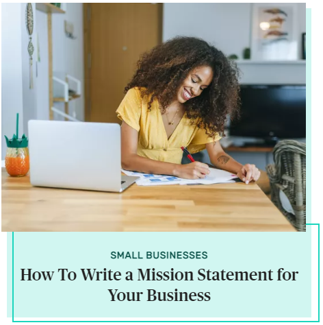 How To Write a Mission Statement for Your Business