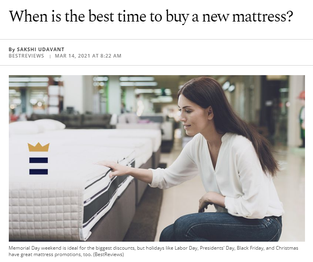 When is the best time to buy a new mattress?