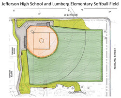 Jefferson High Softball Field