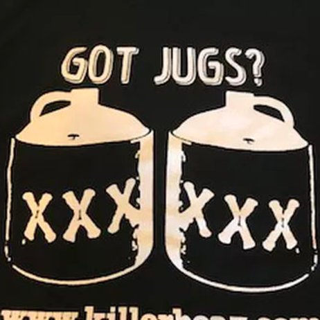 "Moonshiners ""Got Jugs!"" Tee Shirt"