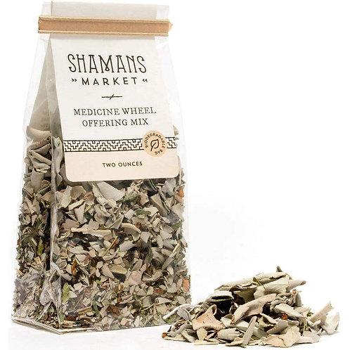 Medicine Wheel Offering, Loose Mix: Sage, Cedar and Sweetgrass