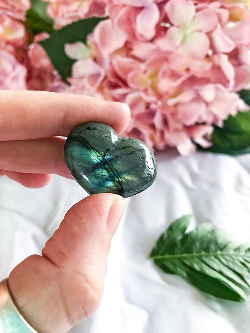 Labradorite Mini Hearts