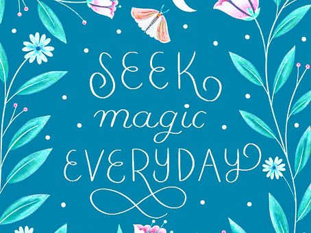 You are the magic that you seek...
