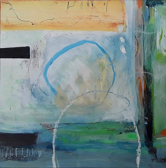 'Sunlit Cove' Original Painting