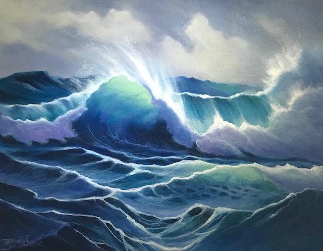'Fantasea' Original Oil Painting