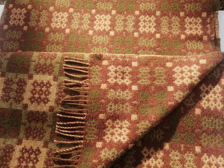 Chestnut Welsh Tapestry Throw