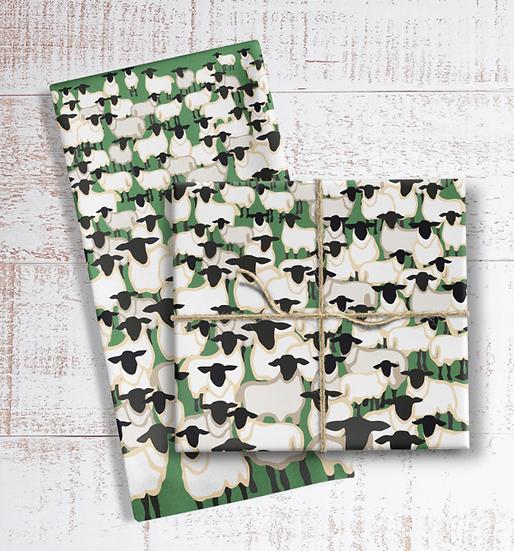 Crowd of Sheep Tea Towel