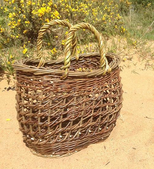 Oval Beach Basket