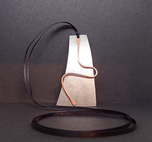 Aluminium & Copper Pendant