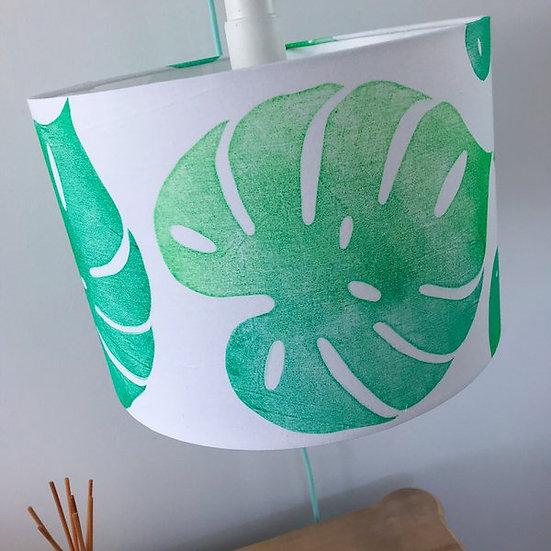 Monstera Leaf Design Light Shade or Lamp Shade