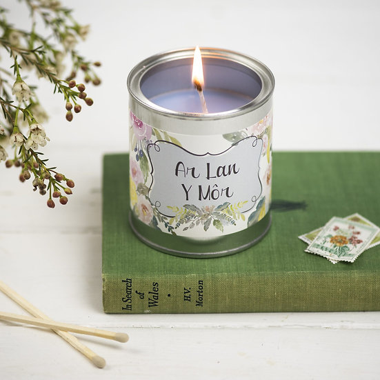 Ar Lan y Mor Candle