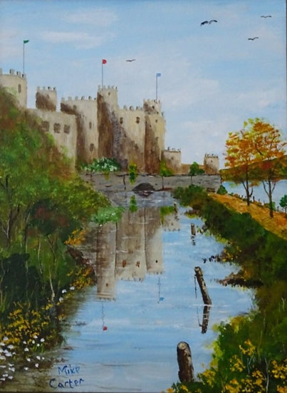 'Conwy Castle' Original Oil Painting