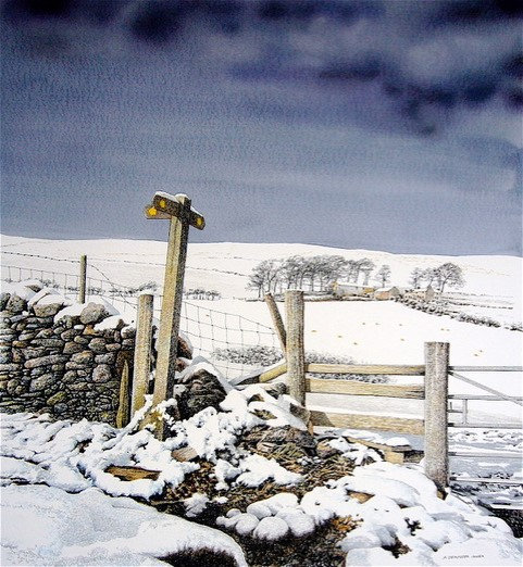 'Offa's Dyke Path' Limited Edition Giclee Print