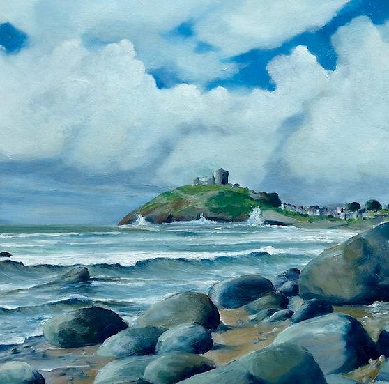 'Towards Pwllheli' Original Oil Painting