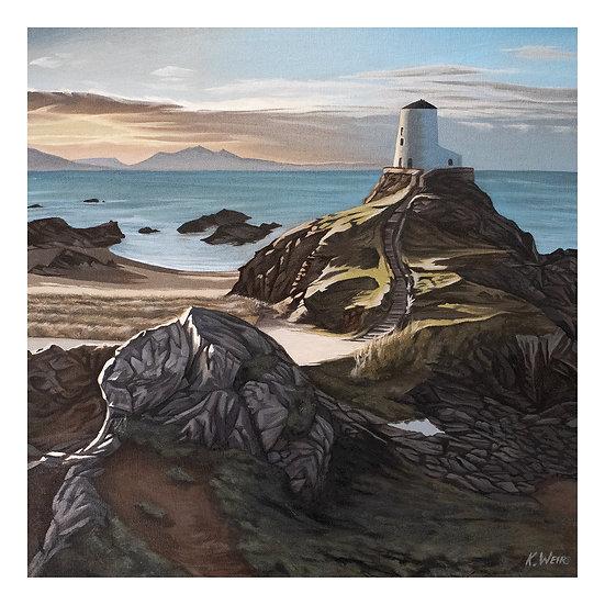 Low Light on Tŵr Mawr Lighthouse, Ynys Llanddwyn, Anglesey