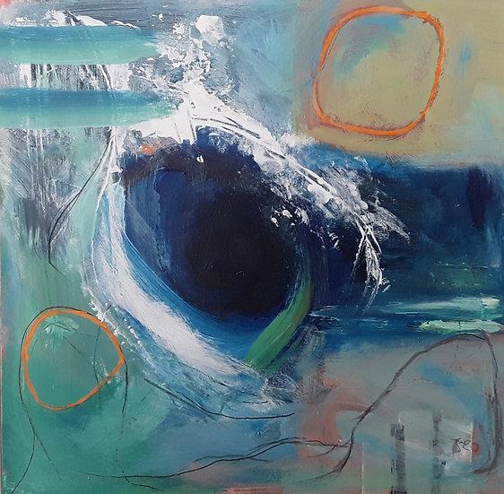 'Distant Shore' Original Painting