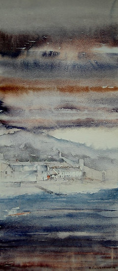 'Conwy Harbour, Evening' Limited Edition Mounted Print