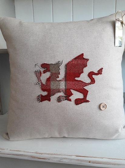 Welsh Dragon Cushion