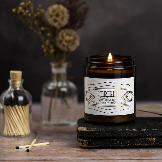 Cartref Candle- Welshcake scented